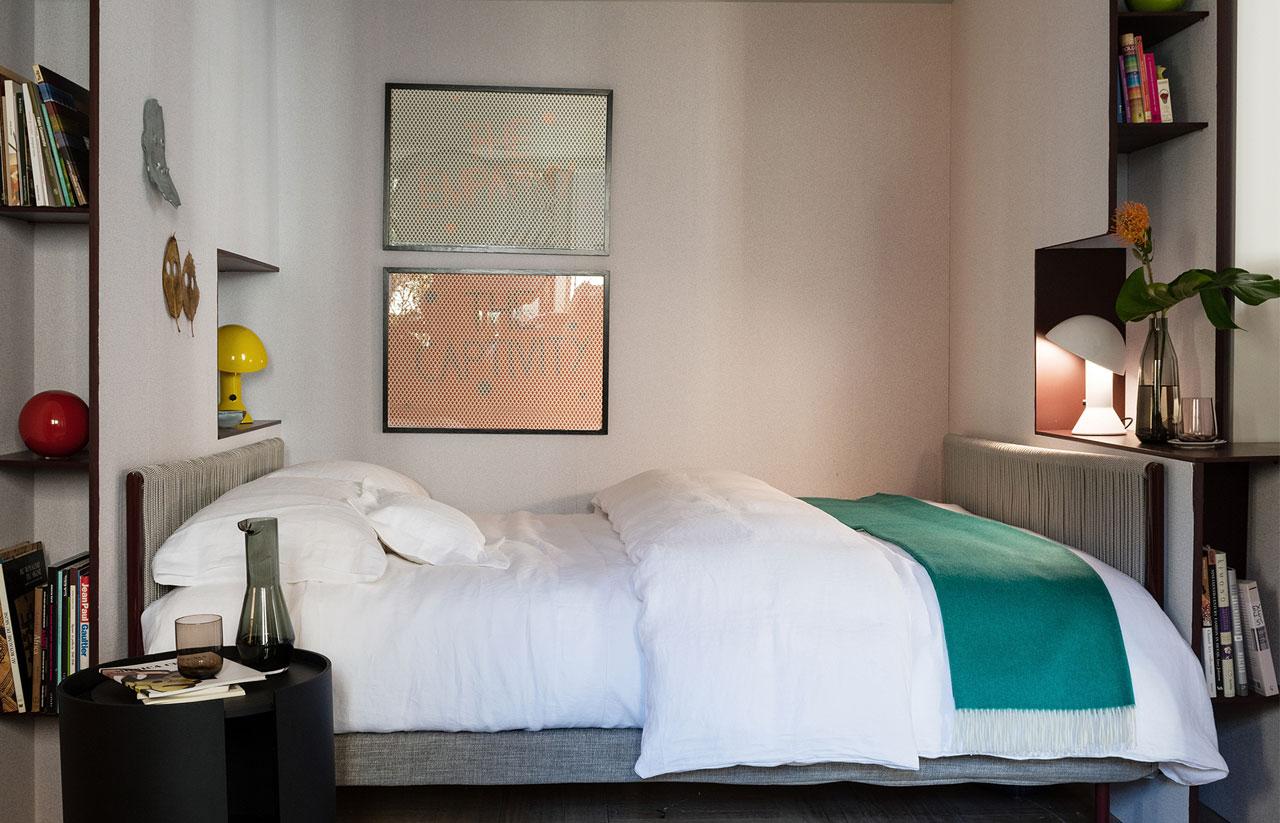 Rivolta Carmignani ispirazioni The Apartment by Elle Decor letto