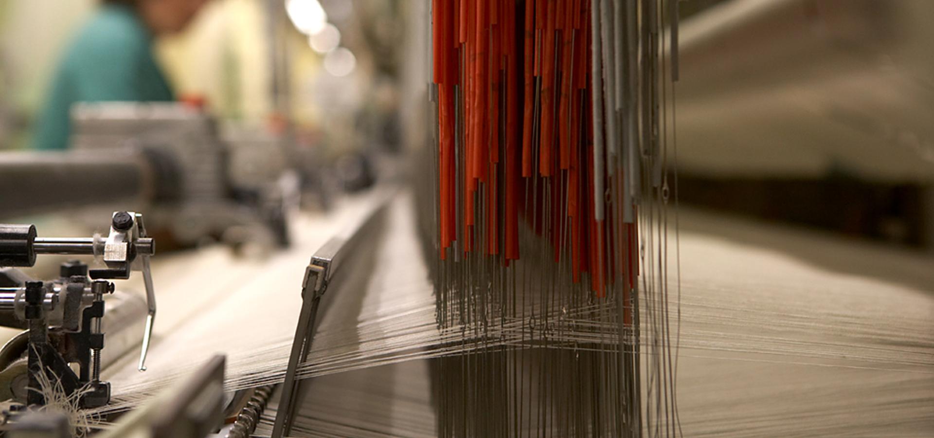 Rivolta Carmignani manifattura il ciclo produttivo completo la tessitura