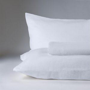 parure lenzuola canapa kanapa bianco ottico