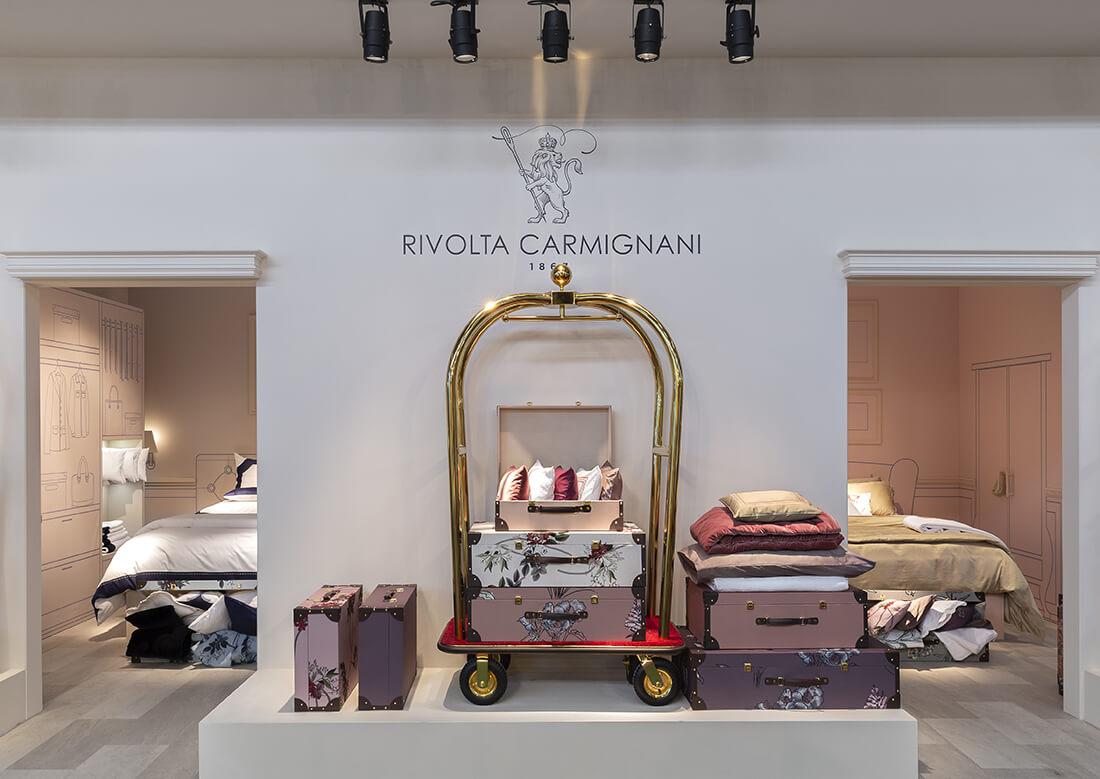 Rivolta Carmignani dal 1867 biancheria lusso hotel