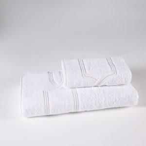 set asciugamani bianco royal